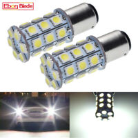 2-1157 Dual Function 27 SMD Tower 12 volt LED  Cool White BAY15D