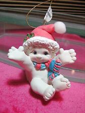 2003 Willitts Designs Dreamsicles Holiday Ornament Joyful #20278 Kristin Cherub