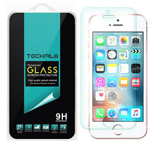 TechFilm® Tempered Glass Screen Protector Saver For Apple iPhone SE / 5S / 5C /5
