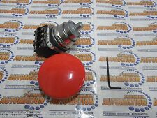 "SIEMENS,52PA2V2A ,  PUSHBUTTON, MTD, RED, 2 1/2"" PLASTIC,2 POS"