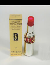 Yves Saint Laurent Volupte Tint In Balm Shade 6 Touch me Read TsT Full Size NIB