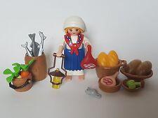 Playmobil Weihnachten Verkauf mit Seit Essen Pastora mit Essen Frau Portal