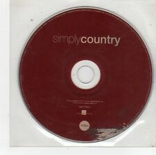 (FU152) Simple Country, 15 tracks various artists (Disc 1 only) - 2012 CD
