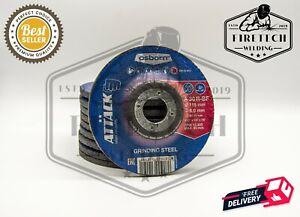 """Osborn (4.5"""") 115mm x 6mm x 22.23mm Grinding Discs /  Metal Grinder Discs"""