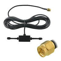 GSM GPRS Antenna 900/1800Mhz 3dbi Cable SMA Male Plug SP