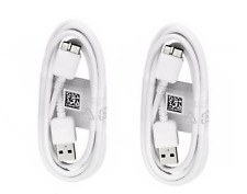 2x USB 3.0 3ft Data Cable Cord Charger Charging Sync For Samsung Galaxy S5 Note3