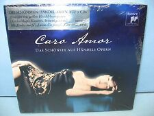 CARO AMOR - The Most Beautiful Arias From Handels Operas,  2CD Sony New