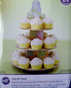 WILTON BABY OR BABY SHOWER THEMED CUPCAKE STAND - new in original pack