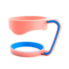 Cup Holder Handle for 30oz Yeti Rtic Ozark Trail Sic Cup Tumbler Pink