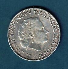 VB21     PAYS  BAS     ARGENT    1  GULDEN    1956     ASSEZ    RARE