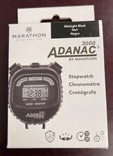 New Marathon Adanac 3000 Digital Stopwatch Timer - Acrylic Lens Display