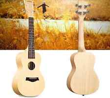 23 inches Wood Color 4 String Beginner Preferred Musical Instrument Ukulele Gift