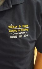 Personalised Embroidered Polo Top, Personalised Workwear