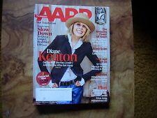 AARP The Magazine Cover Diane Keaton December 2015/January 2016