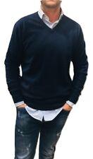 Suéter Hombre Cardigan Clásico Lana Cachemir Algodón Cuello Cremallera Camiseta