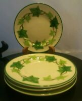 "Franciscan Ivy 4 Bread & Butter / Dessert Plates 6 1/2"" Gladding McBean VTG"