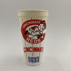 Vintage Cincinnati Reds 1994 MLB Plastic Cup ICEE