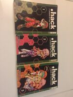 .hack Legend Of Twilight Complete Set Vol 1-3 English Manga Tokyopop