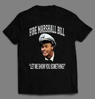 IN LIVING COLOR FIRE MARSHALL BILL HIGH QUALITY OLDSKOOL SHIRT MANY SIZES