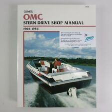 Clymer Omc Stern Drive Manuel 1964-1986 b730 WERKSTATTBUCH