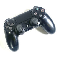 Sony PlayStation DualShock 4 Wireless Controller Jet Black Good Condition