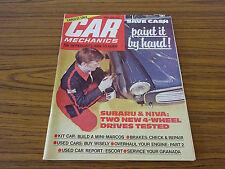 Car Mechanics: Enthusiast's How-To Guide: May 1979: Subaru & Niva