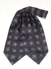 Vintage Pure Silk Cravat Scarf Dapper Mod Indie Goodwood Ascot Races
