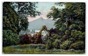 1909 Chocorua Mountain and Lake from Rustic Gate, NH Postcard *319