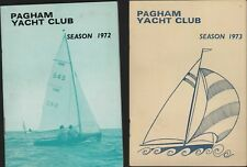 Pagham Yacht Club Seasons 1972 & 1973  RN.147