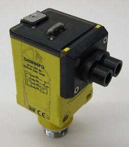 Banner Q45BB6FQ Infrared Glass Fiber-Optic Photoelectric Sensor, Mini-Style QD
