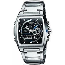 Casio Men's EFA-120D-1A 'Ana-Digi' Analog-Digital Stainless steel Watch