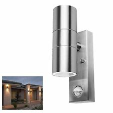 Outdoor Security PIR Sensor Porch Outside Wall Doorway Patio House Garden Light