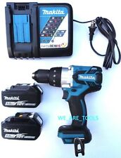 Makita 18V XPH07 Brushless 1/2 Hammer Drill,2) BL1850B 5.0 AH Batteries, Charger