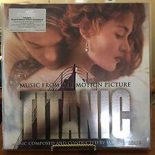TITANIC Original Motion Picture Soundtrack James Horner 2 GOLD Vinyl LPs, 2016,