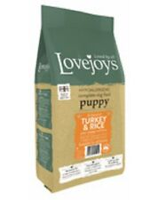 Lovejoys Turkey & Rice Wheat & Gluten Free Complete Dry Puppy Food 12kg