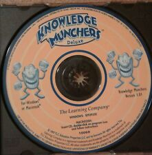 The Learning Company Knowledge Munchers Deluxe PC