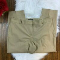 "Talbots Women's Brown ""Curvy"" Fit Dress Career Work Professional Pants Size 14"