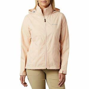 Columbia Womens Peach Cloud Switchback III Waterproof Rain Jacket Plus Sz 3X $75