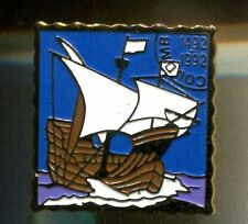 RARE PINS PIN'S .. TOURISME EXPO SEVILLE AMERICA COLOMB 1492 TIMBRE LA POSTE ~CV