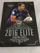 Cameron Smith 2016 NRL Elite Traders Melbourne Storm Rugby League Card