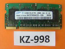 Samsung M470T6554CZ3-CD5 (512 MB, PC2-4200 (DDR2-533), DDR2 RAM, 533 MHz #kz-998