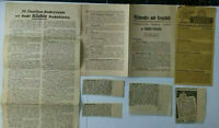 2 KÜCHLE OBLATEN 1 POTAPUR WERBEBRÖSCHÜREN  BACKREZEPTE vor 1945