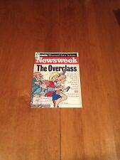 Newsweek Magazine The Overclass July 31 1995 Kevin Costner Waterworld Bosnia