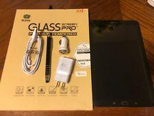 Samsung Galaxy Tab E SM-T560 16GB, Wi-Fi, 9.6in - Black  NEW OTHER BUNDLE