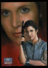 Topps Star Wars Galaxy 7 Oil Painted Sketch Card (Leia) by CHARLES HALL