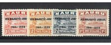 Nauru 1935 His Majesty's Silver Jubilee Set of 4 Stamps MLH Mint Lightly Hinged