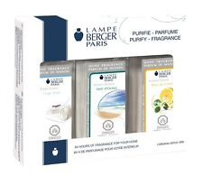 Lampe Berger Fragrance Oil Trio Pack - Fresh Linen Ocean Breeze Lemon Flower