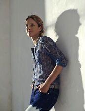 Isabel Marant Etoile ble top size 38, AUS 8-10