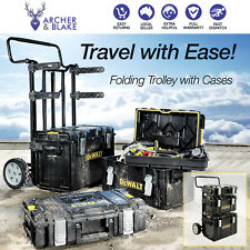 DeWalt Tough Case Tool Box Storage System Trolley set DeWalt Tough System