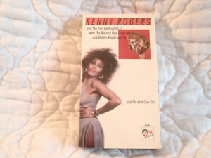 KENNY ROGERS AND THE FIRST EDITION ROLLIN' VHS NEW '71 TINA TURNER GLADYS KNIGHT
